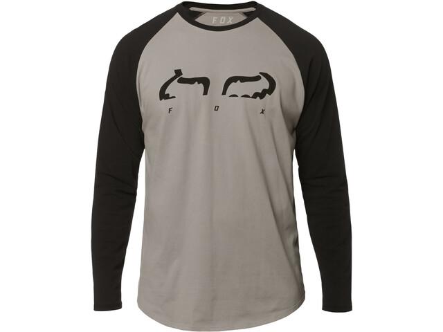 Fox Strap Airline Longsleeve Shirt Herren steel gray